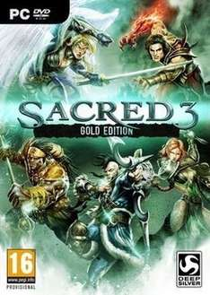 Sacred 3 Gold PC @ £2.99 from  cdkeys