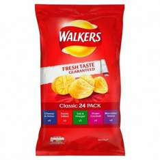 Walkers 24 variety pack rrp £3 just £1.49 @poundstretcher