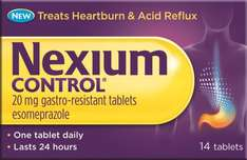 NEXIUM Control 14 Tablets £6.99 delivered Prime / £10.98 Non Prime @ Amazon