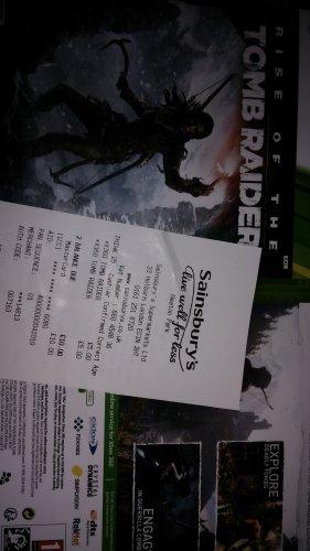 GTA V & Rise of the Tomb Raider for Xbox 360 £5 instore @ Sainsbury's