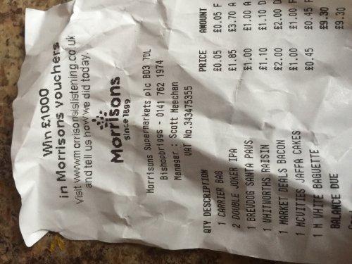 BrewDog Santa Paws Scotch Ale - £1 @ Morrisons