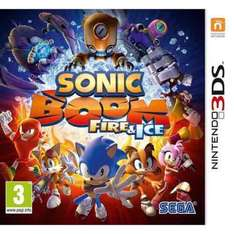 Sonic Boom: Fire & Ice (3DS) £20 (C&C) @ Smyths