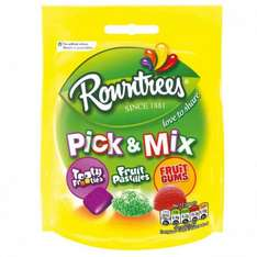 Rowntree's Pick & Mix Share Bag 150g £0.20 at Poundstretcher