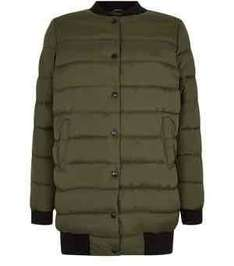 Teen longline puffer jacket now £7 @ new look free c@c over £20 or £3.99 delivery