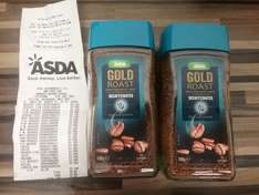 Asda decaf coffee 100g jars 46p @ Asda instore
