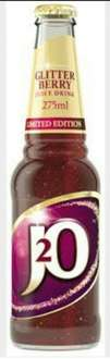 J20 Glitter Berry 39p each instore @ Home Bargains