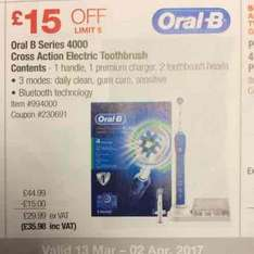 Oral B Series 4000 £35.98 @ Costco