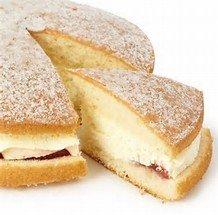 Morrisons Fresh Cream & Jam/ Fresh Cream Chocolate Sponge  £1.00