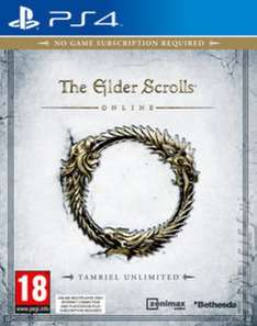 The elder scrolls online (PS4) preowned £6.49 delivered @ Musicmagpie