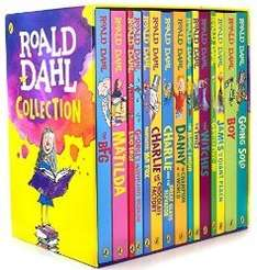 Roald Dahl Collection - 15 Books + FREE BOOK £21.99 Delivered at thebookpeople