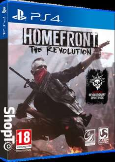Homefront: The Revolution PS4/Xbox One - £4.85 delivered @ Shopto