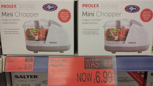 Prolex mini chopper only £6.99 instore @ B&M