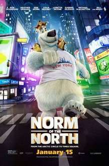 Norm of the North DVD £3 @ Tesco Direct Free C&C