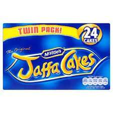 jaffa cakes 24 for £1 at onestop halifax King cross.