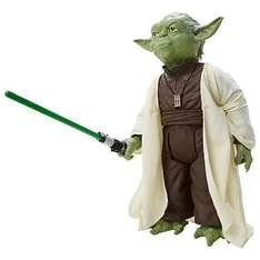 "18"" Yoda now £17.50 @ John Lewis online £2 c&c free over £30 delivery £3.50 was £34.99"