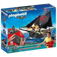 Playmobile remote control pirate ship was £70 now £35 @ John Lewis online free c&c £3.50 delivery