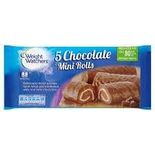 Weightwatchers Chocolate Mini Rolls/Cake Bars instore at Asda for 50p