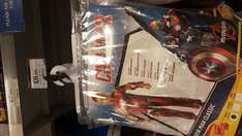 Marvel Captain America / Iron Man Costumes £6.99 instore @ Home Bargains