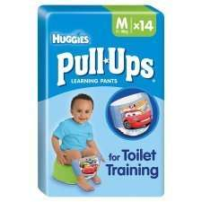 Huggies Pull Ups less than half price was £4.50 now £2.00 @ tesco from tomorrow