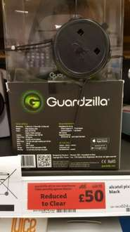 Guardzilla All-In-One Video Security System- Black was £68 now £50 instore @ sainsbury's Lincoln