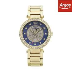 Juicy Couture Ladies' Luxe Couture Blue Dial Bracelet Watch - £32 From Argos on ebay