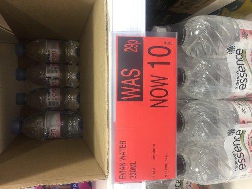 330ml bottles of Evian water - 10p instore @ B&M Sunderland
