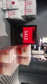 Hollister cologne 50ml was £28 now £10.99 Hollister -  Bluewater