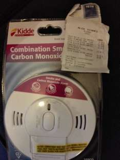 kidde combination alarm checking out at £11.99 in aldi didcot. smoke/ carbon monoxide