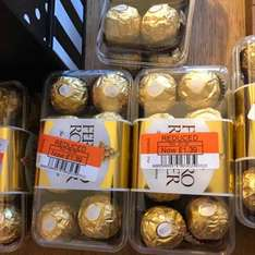 ferrero rocher 16 pack £1.39 at co op were £4.00