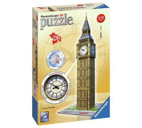Ravensburger Big Ben with Clock, 3D Jigsaw Puzzle Was £24.99 now £11.99 @ Argos