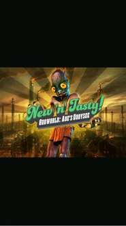 ODDWORLD NEW N TASTY £4.99 ps3, ps4, ps vita  on psn now till 22nd only.