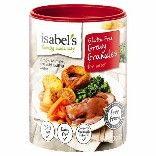 Isabels gluten free gravy granules 58p Morrisons