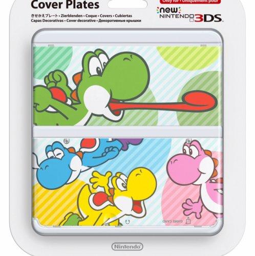 NEW Nintendo 3DS Multi-colour Yoshi Cover Plate £5.38 (Prime) / £7.37 (non Prime) at Amazon