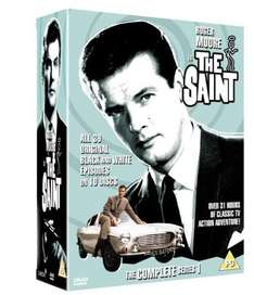 The Saint - The Complete Series 1 10 disc on DVD, £6.48 (Prime) / £9.47 (non Prime) Sold by Shop4World and Fulfilled by Amazon
