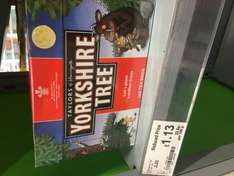REDUCED TO CLEAR Yorkshire teabags ASDA 160 for £1.13 instore