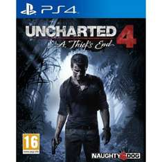 Uncharted 4 - PS4 - £19.95 The Game Collection