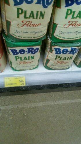 Be-ro 1.25kg plain flour reduced to 50p @ Asda
