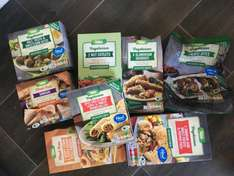 Asda Vegetarian range reduced starting from 50p been told it's due to new packaging at Sheffield handsworth store (update confirmed in other stores)