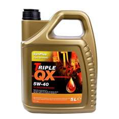 TRIPLE QX  5W-40 Fully Synthetic Engine Oil 5Ltr  £12.61  carparts4less with code