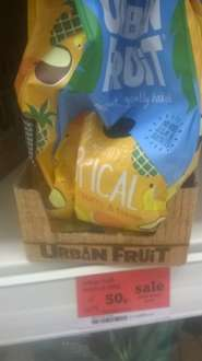 Tremendously Tropical Urban Fruit down to 50p bbe dec 17 in sainsbury's colchester town
