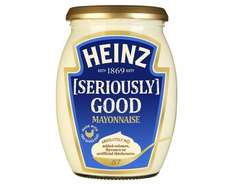 Heinz Seriously Good Mayo Jar 225ml dated Feb 17 reduced instore B&M - 15p