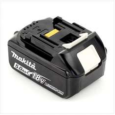 Get more power for less! Makita BL1850 18 V 5.0 Ah Li-ion LXT Battery £64.95 - Amazon