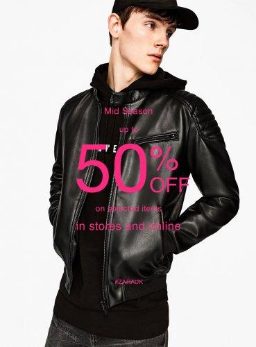 Zara mid season sale upto 50% off now on...online and Instore @ Zara