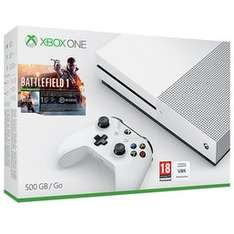 XBox One S Battlefield bundle 500gb + Additional Controller + Rare Replay + Forza Motorsport 5 + Ryse  all for £219.99 @ Game