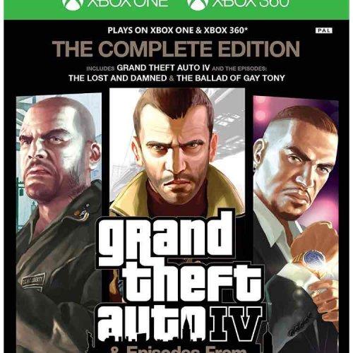 GTA IV Complete Edition (Xbox 360/Xbox One) £12 prime / £13.99 non prime Amazon (Temporarily out of stock)