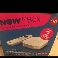 now tv box 2 day passes for sky sport. WH Smith Hull £10 instore