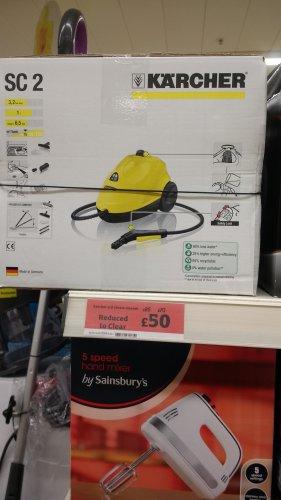 Karcher SC2 Steam Cleaner - £50 Instore @ Sainsbury's
