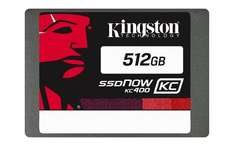 Kingston SSDNow KC400 512 GB SATA 3 Internal Solid State Drive @ Amazon for £86.71