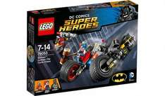Lego DC Comics Gotham city cycle chase now £13 @ asda online free c&c
