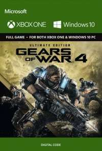 Gears of War 4 Ultimate Edition (Inc season pass) Xbox One/PC - Digital Code (with FB code) £37.99 @ CD Keys